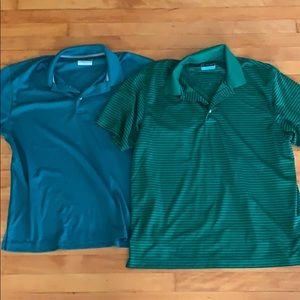 Two Mens Polos DONATING SOON